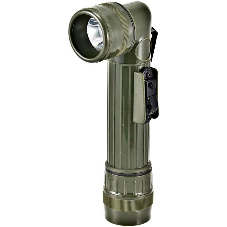 Kids Military Style Angle Flashlight - Olive Drab