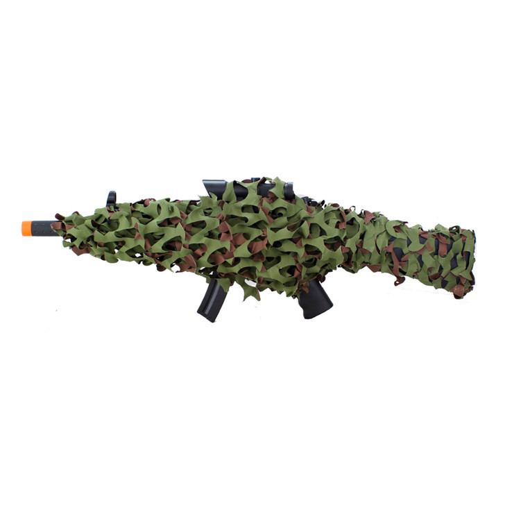 Camo Net Gun Wrap - Woodland