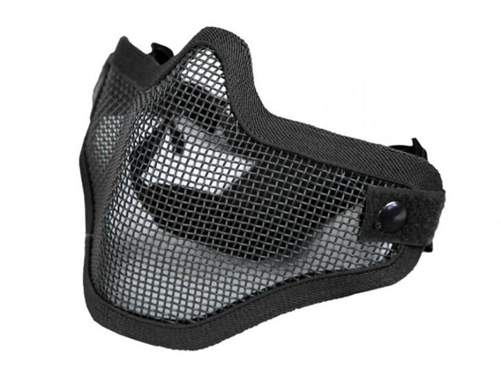 Mesh Half Mask - Black