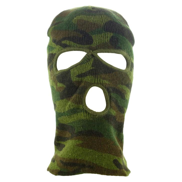 S.A.S. Balaclava - Ski Mask - Woodland