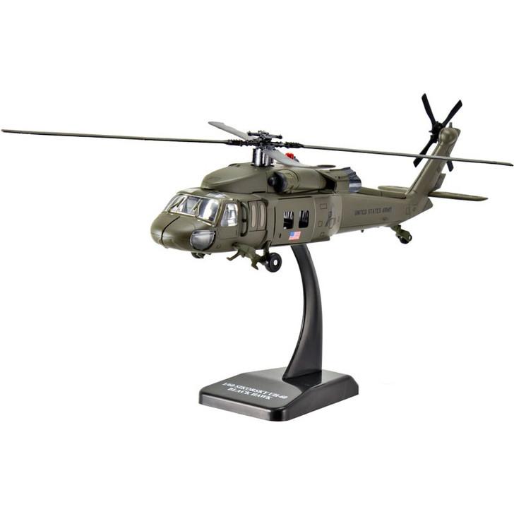 Die-Cast Black Hawk Helicopter Kit