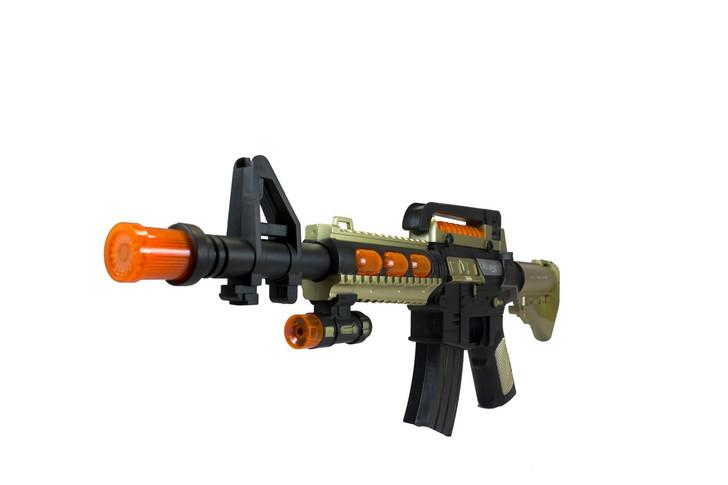 Mini M4 Lights and Sounds Machine Gun