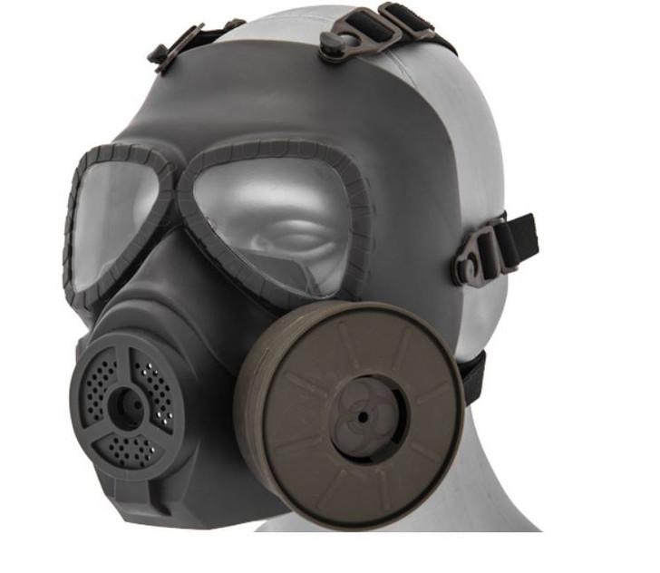 Dummy Anti -Fog Gas Mask OD Green