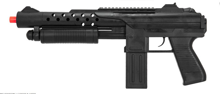 Spring Pump Shotgun With Sight and Laser