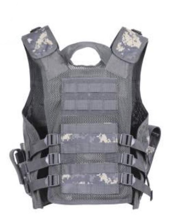 Kids-Army Cross Draw Vest ACU