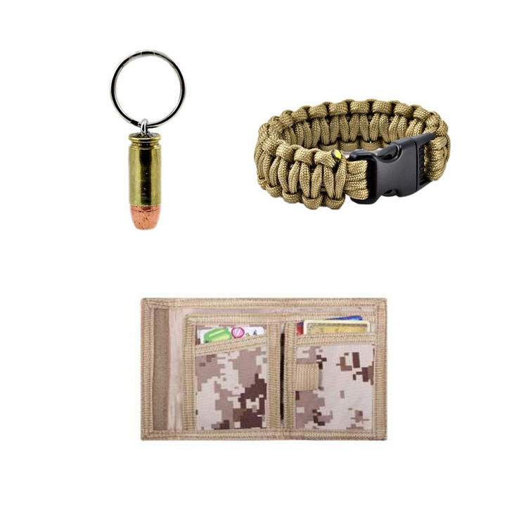 Wallet Bracelet Combo