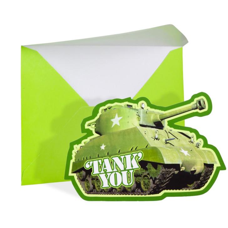"""Tank You"" Cards"
