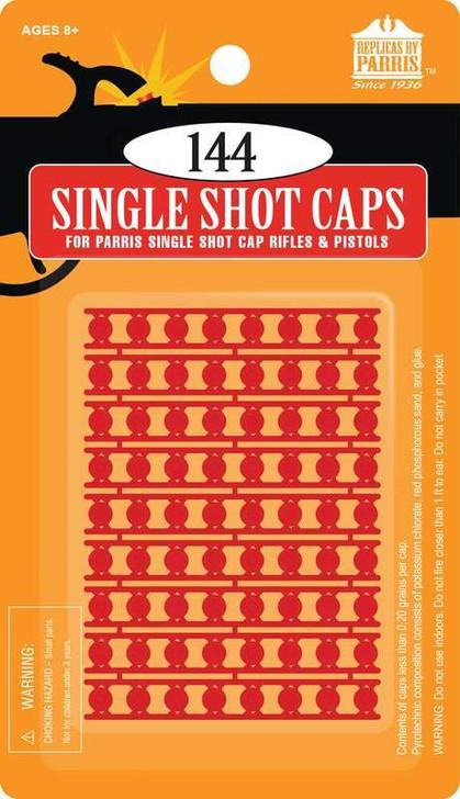 144 Single Shot Individual Caps