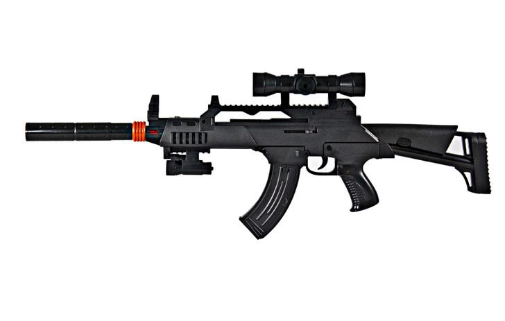 Tactical AK-47 Lights and Sounds Machine Gun