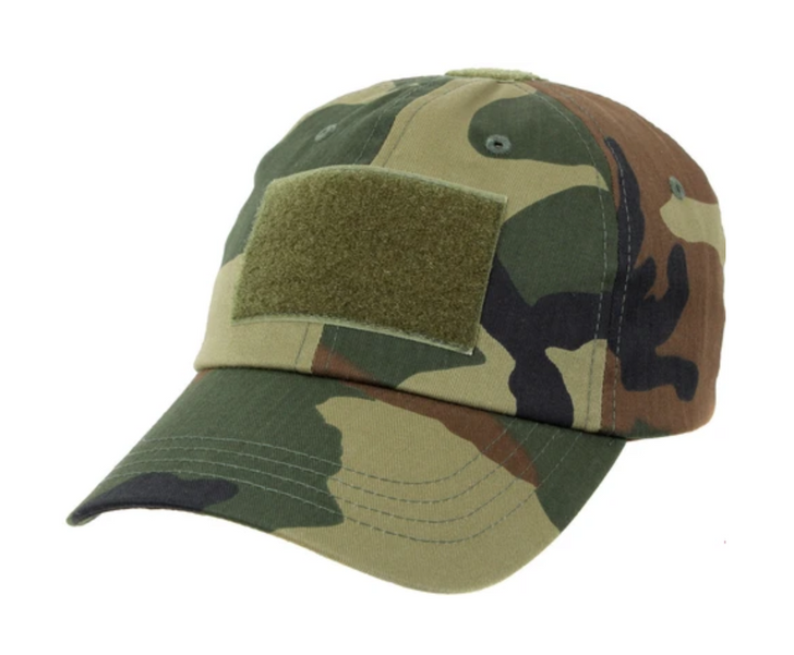 Tactical Operator Cap Woodland Camouflage