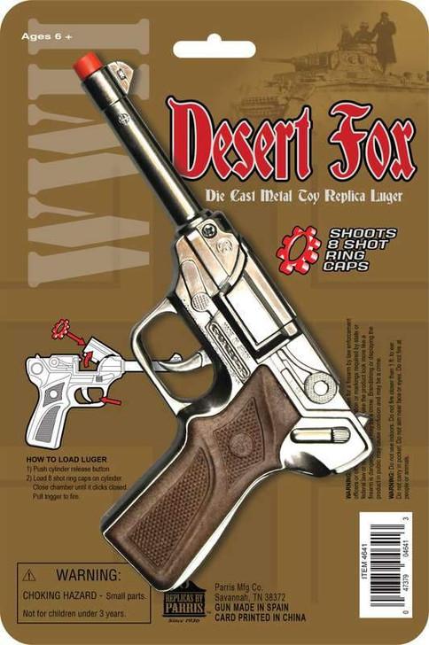 Desert Fox 8 Shot Luger Replica Cap Gun