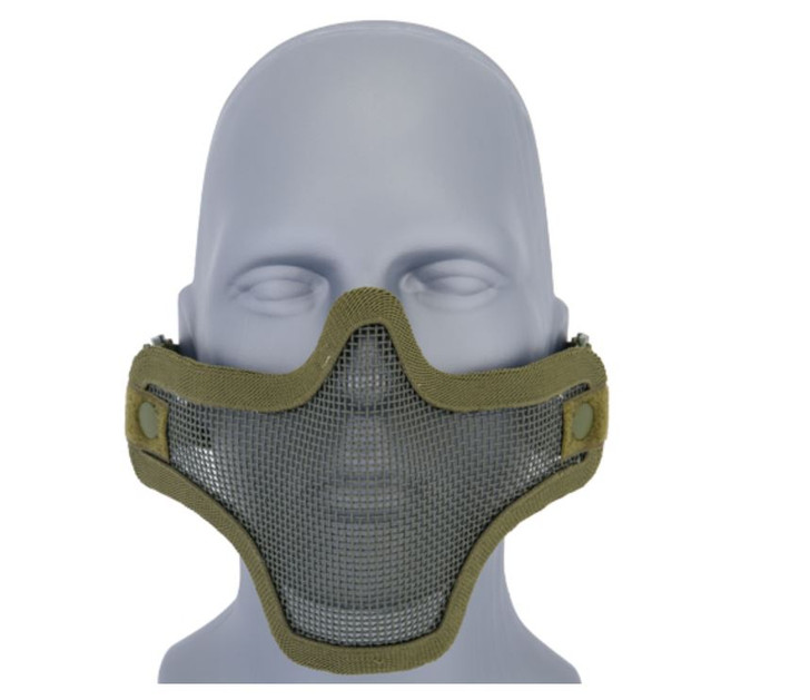 Mesh Half Mask - Green