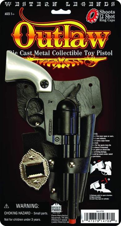 Western Legends OUTLAW 12 shot cap gun set