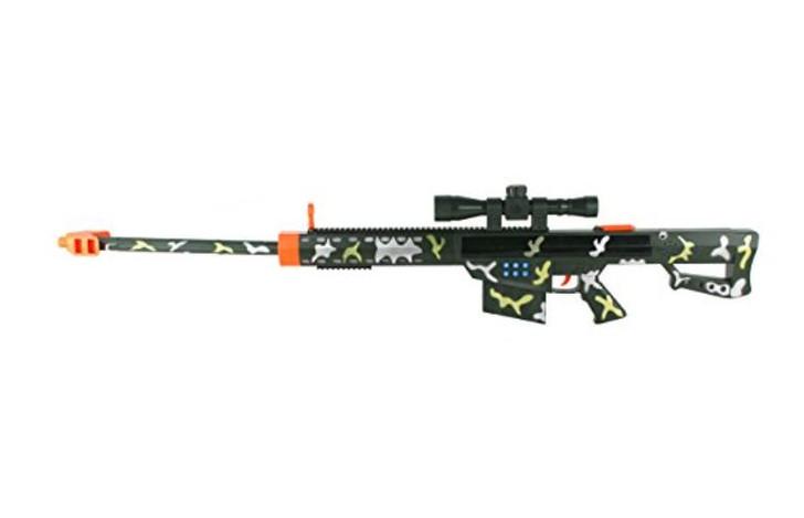 Barrett 50 Cal.  Lights and Sounds Sniper Rifle