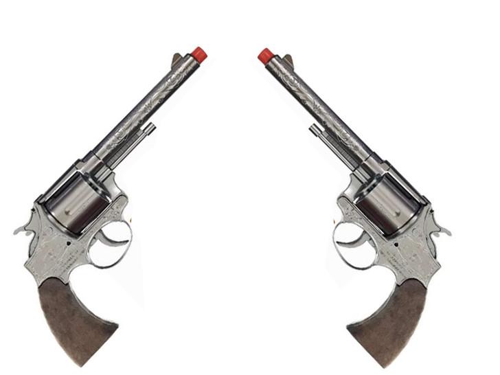 Dual Jesse James 12 Shot Cap Guns