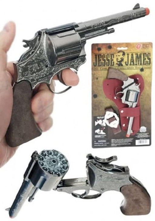 Jesse James 12 Shot Holster Set