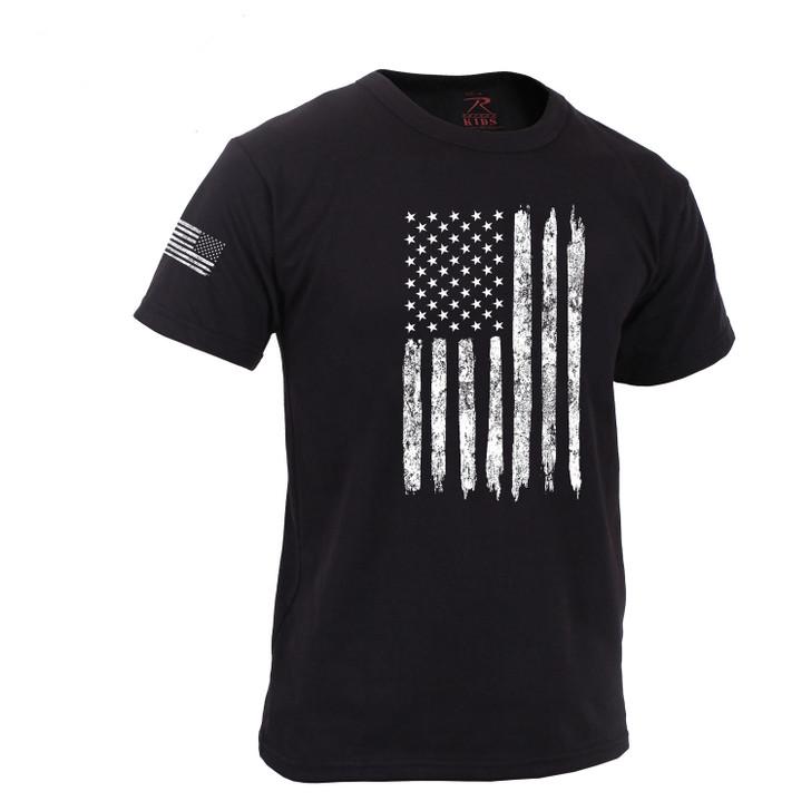 Kids Subdued US Flag T-Shirt