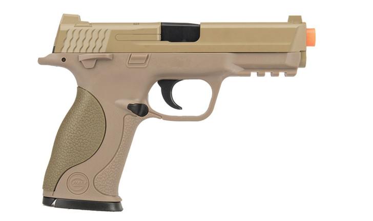 UK ARMS  1:1 Replica Airsoft Spring Pistol Dark Earth