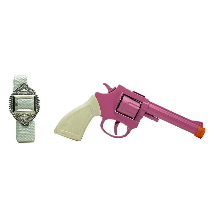8 Shot Cowgirl Holster Cap Gun Set