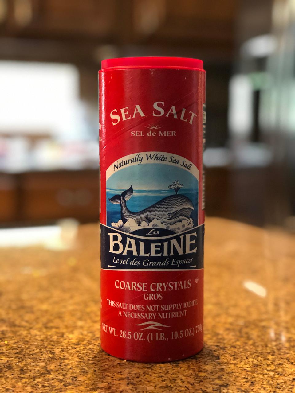 La Baleine Coarse Sea Salt Con Olio Oils Vinegars