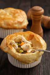 Mushroom Sage Chicken Pot Pie