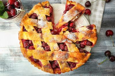 Balsamic Cherry Pie