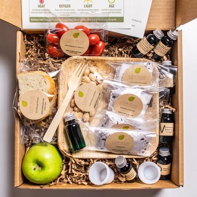 Private Virtual Olive Oil/Balsamic Tasting Class-Non Perishable