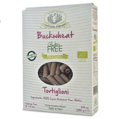 Organic Buckwheat Tortiglioni