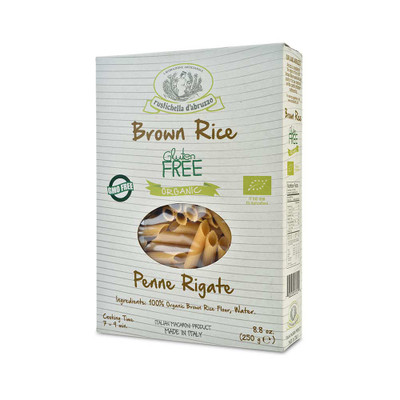 Organic Brown Rice Penne Rigate