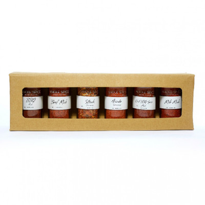 WholeSpice BBQ Spice Gift Set