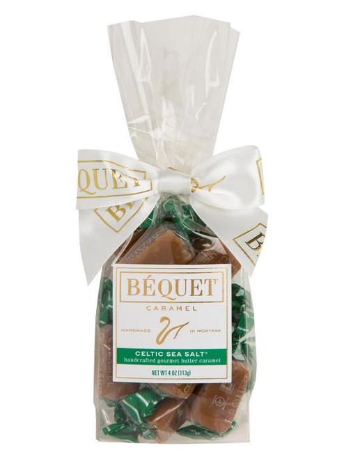 Bequet Confections Caramel 4oz Celtic Sea Salt