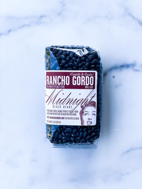 Midnight Black Beans Rancho Gordo
