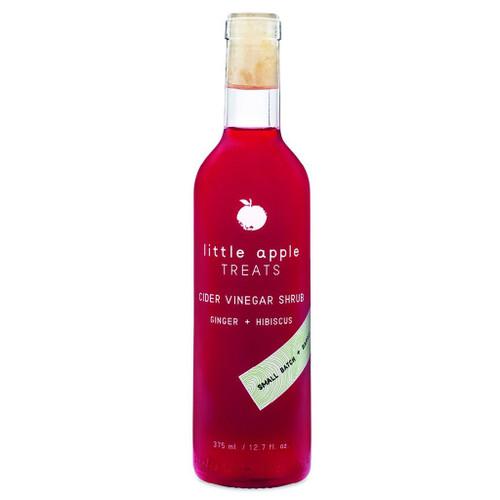 Ginger Hibiscus Cider Shrub