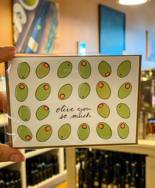 Olive You So Much Card