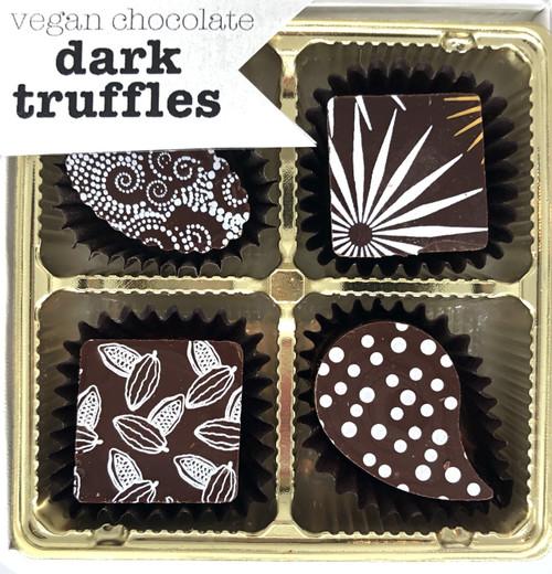Dark Chocolate Truffles-The Xocolate Bar
