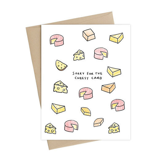 Cheesy Greeting Card