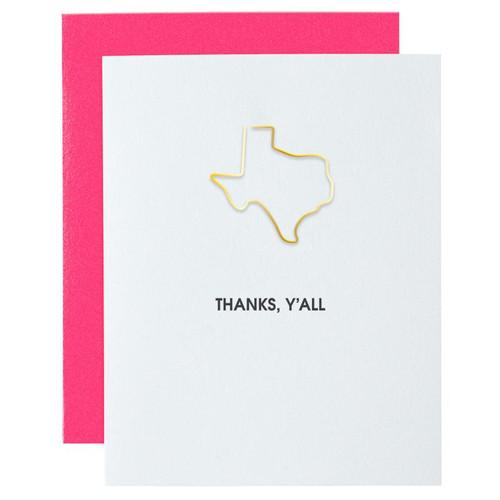 Thanks Y'all Card