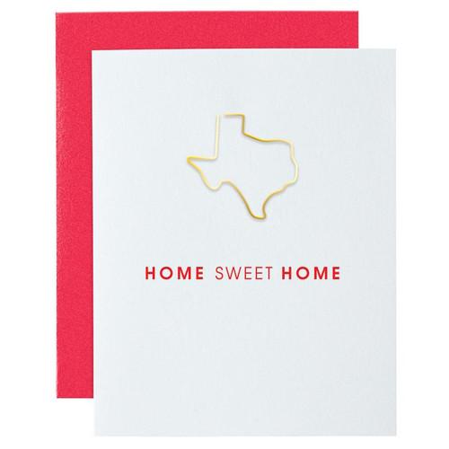 Home Sweet Home TX Card