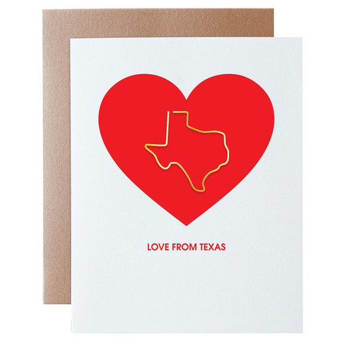 Love from Texas Card