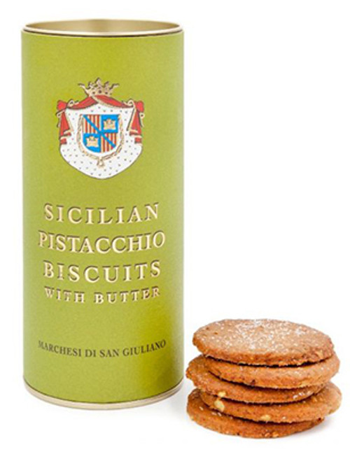 Sicilian Pistachio Biscuits with Butter