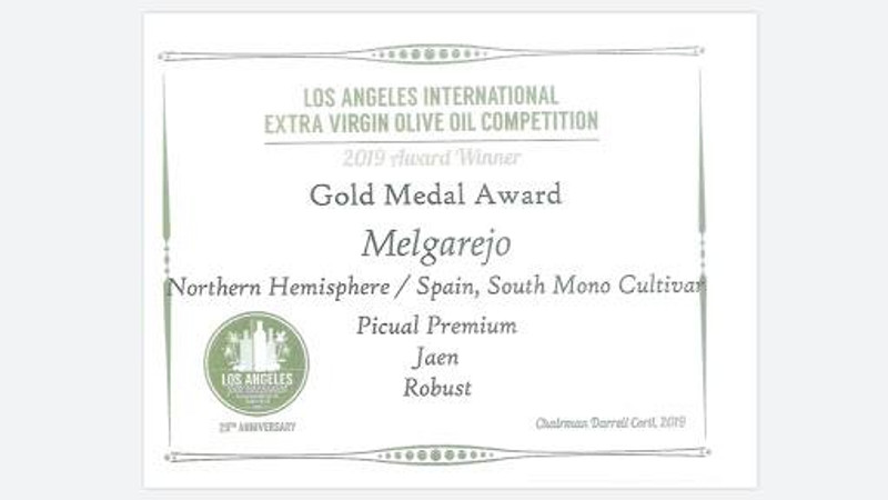 Award Winning Oils at Con' Olio-LA International Olive Oil Competition