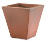 GRAM RIBBED Square Planter