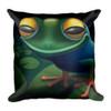 Happy Frog Pillow
