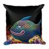 Rainbow Fish Pillow