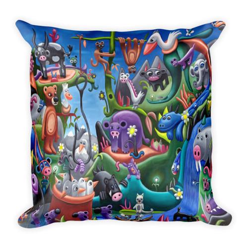 Secret Jungle Pillow