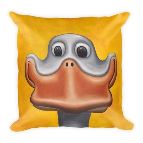 Happy Duck Pillow