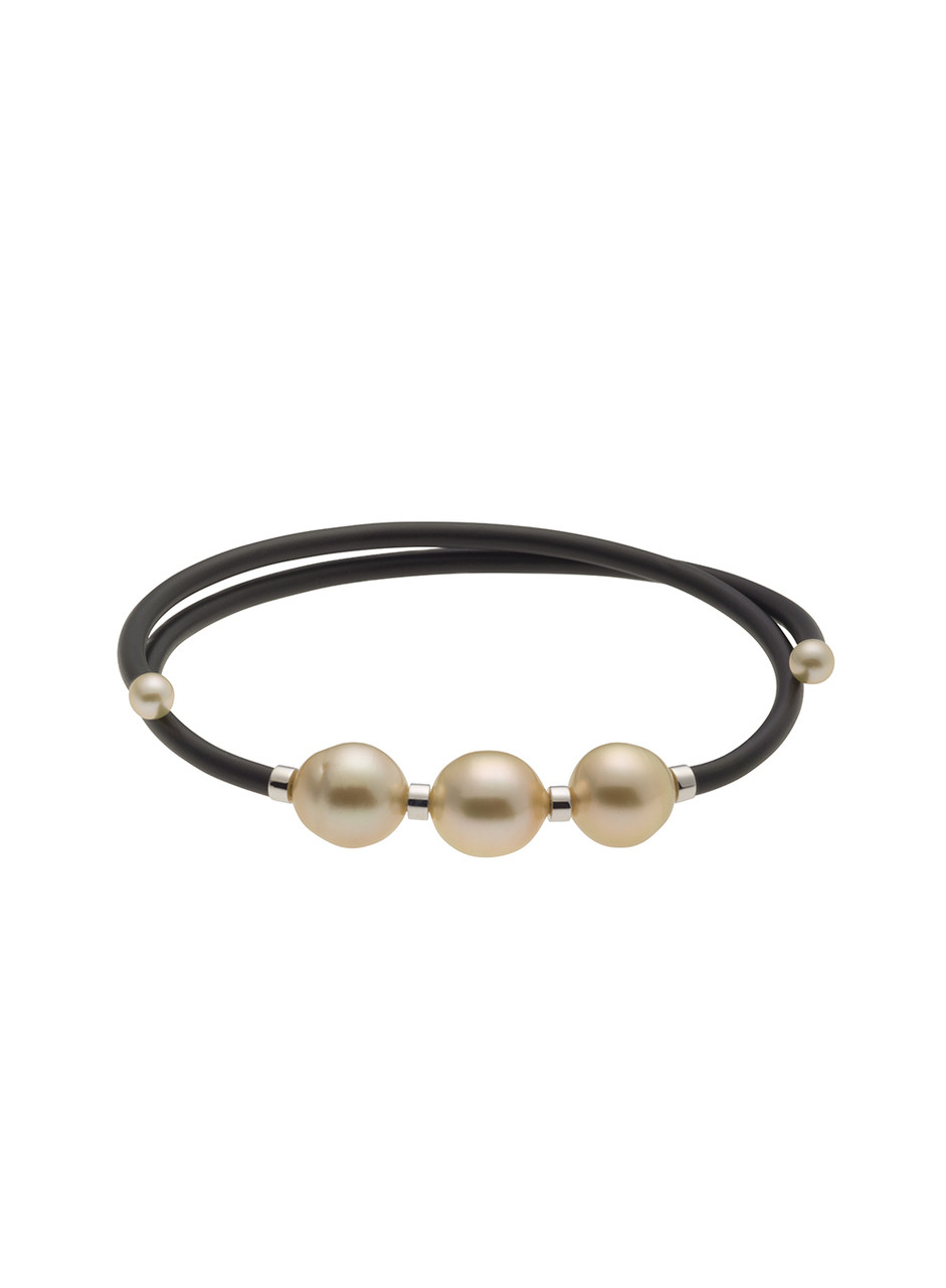Golden South Sea Cultured Pearl Bracelet