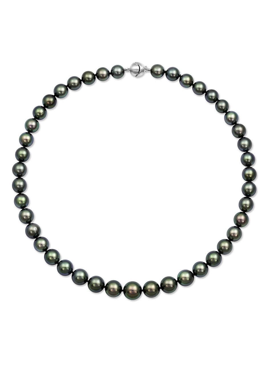 Tahitian Round Pearl Necklace