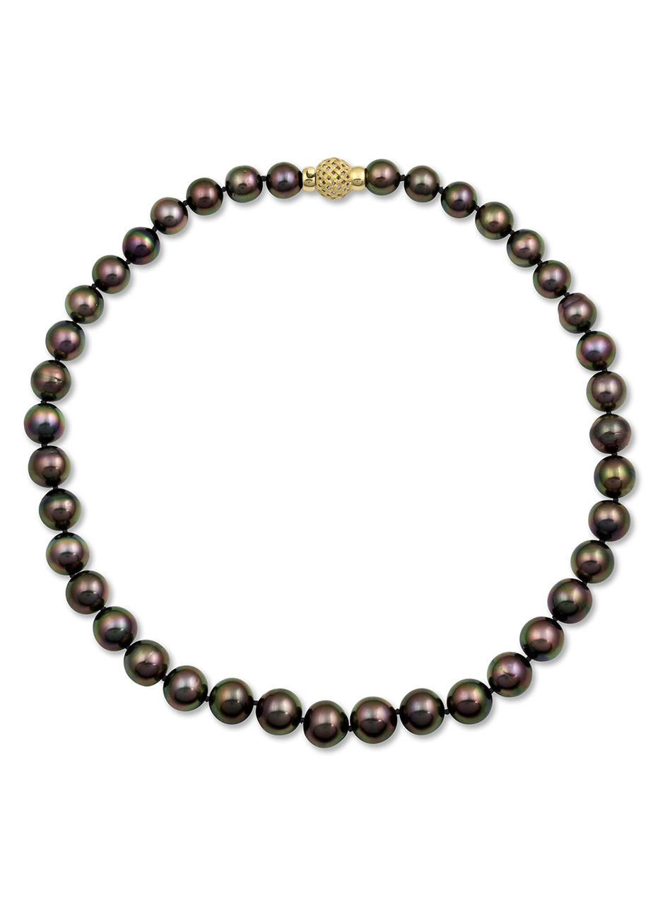 Tahitian Peacock Pearl Necklace