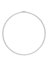14K White Gold Diamond Necklace BALP-ND105